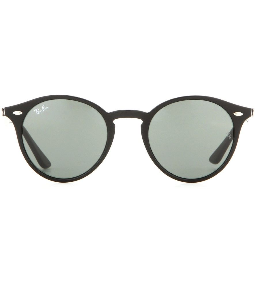 Ray-Ban - RB2180 round sunglasses - Ray Ban\'s round sunglasses are a ...