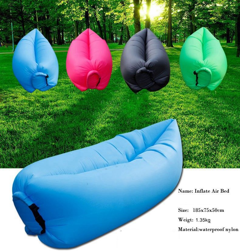 Sofa Sale Air Chair Fast Inflatable Camping Outdoors Lounger make a good bed for hiking