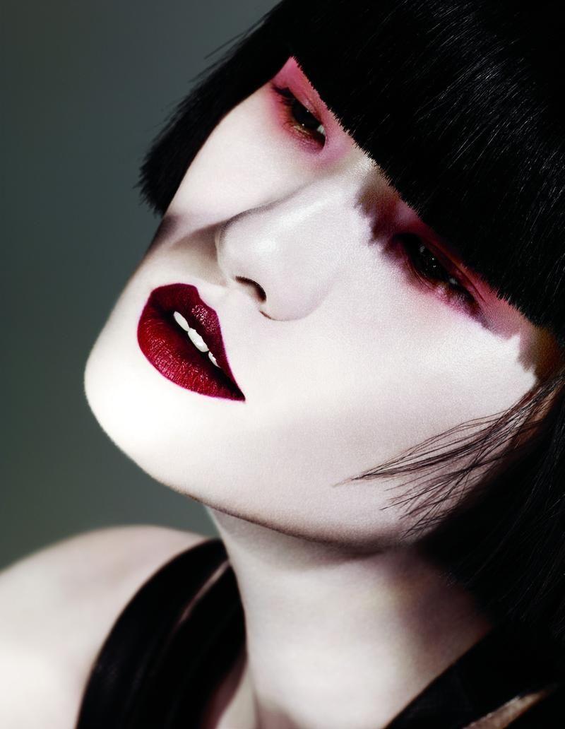 Wang Xiao by Ben Hassett  pale skin  dark hair  Pinterest  Vogue