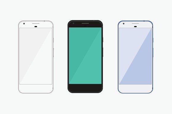 Google Pixel Phone Mockup Google Pixel Phone Pixel Phone Phone Mockup