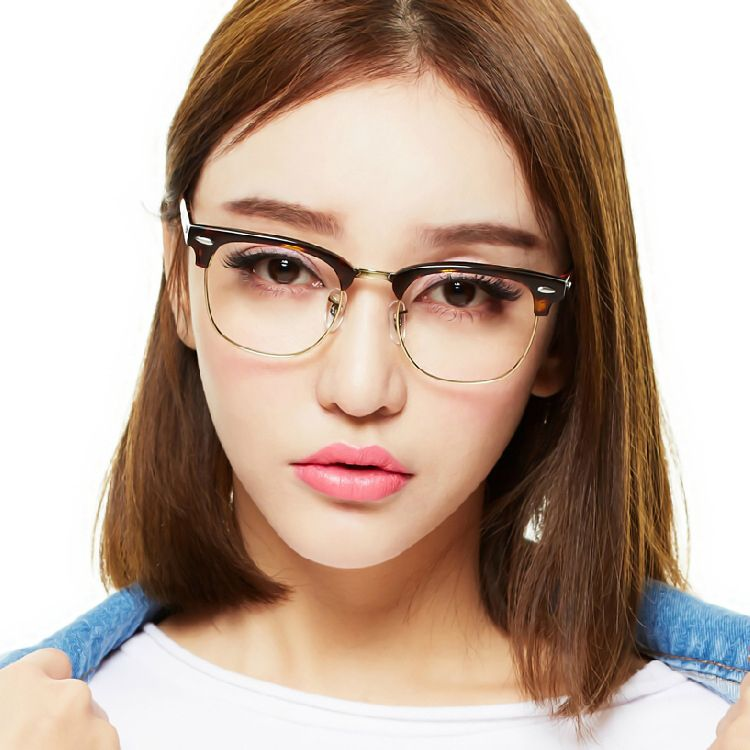 new retro clubmaster wayfarer clear lens nerd frames glasses fashion brand design mens womens vintage halfjpg