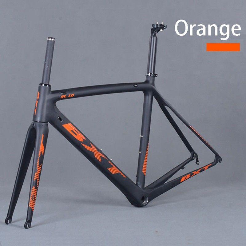 Factory Price Frame Carbon Road Bike Matte Carbon Racing Bicycle