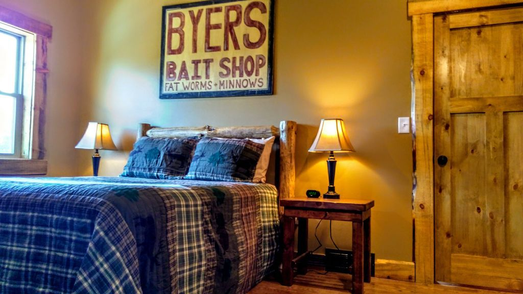 Upstairs bedroom perfect for relaxing