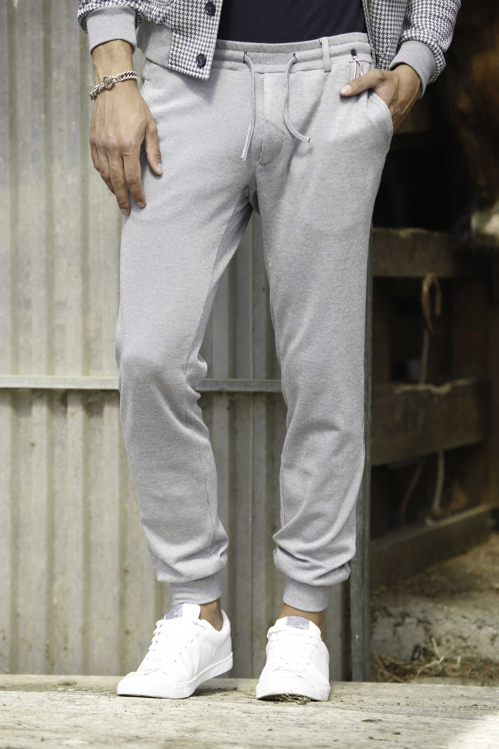 Mason's Man jogging pants model Torino Pinstripes - Masons