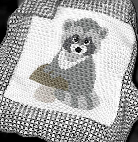 Crochet Blanket Pattern Crochet Baby Blanket Pattern | ganchillo ...