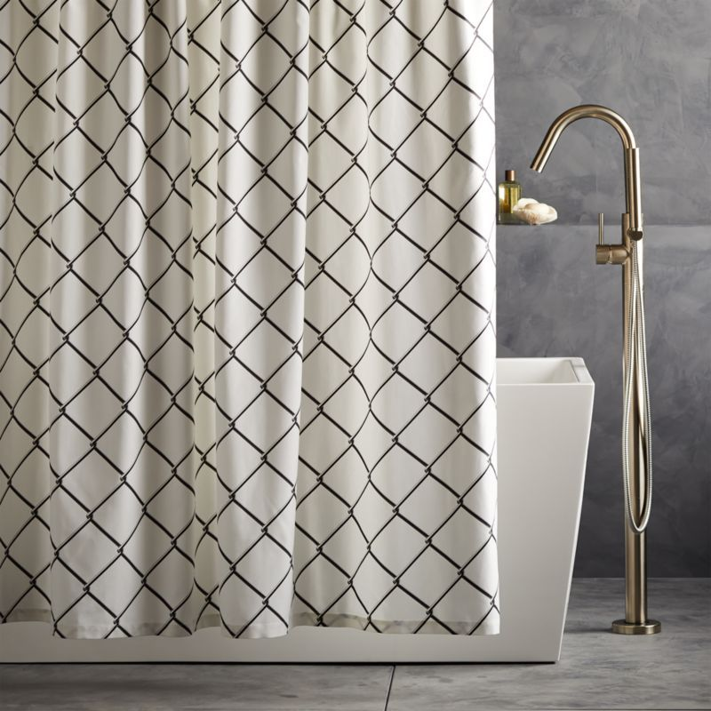Gibarian Chainlink Shower Curtain Reviews Designer Shower
