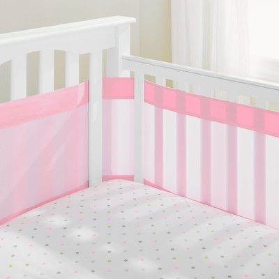 Airflowbaby Mesh Crib Bumper Liner Products Pinterest Cribs