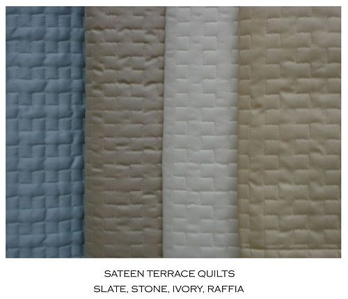 N.C. Souther Sateen Terrace Quilt Boxspring Cover | Master ... : quilted box spring cover - Adamdwight.com