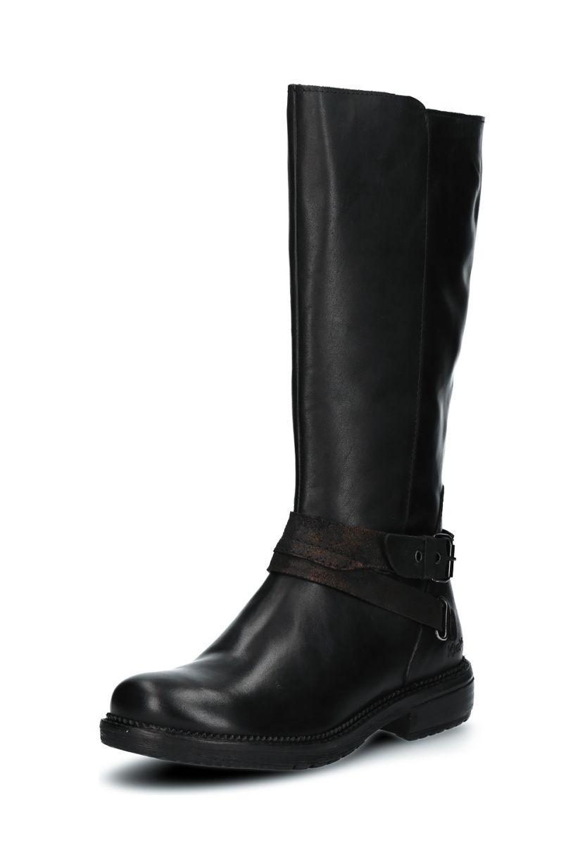 Kickers - Damen - Motcast - Stiefeletten & Boots - schwarz rS3M2s2