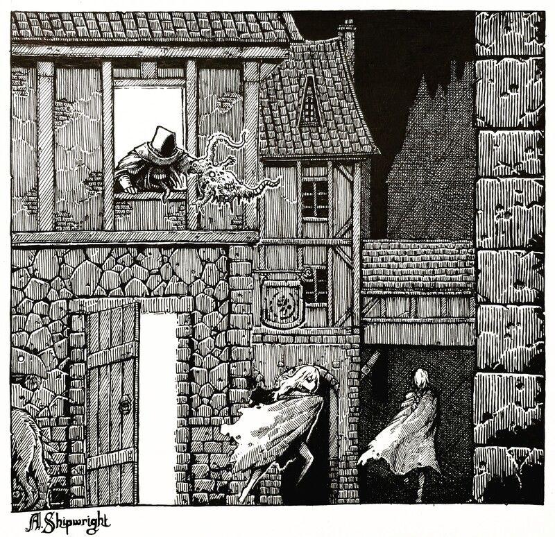 ArtStation - In the Night of Druthdin, A. Shipwright | Shipwright, Art,  Character art