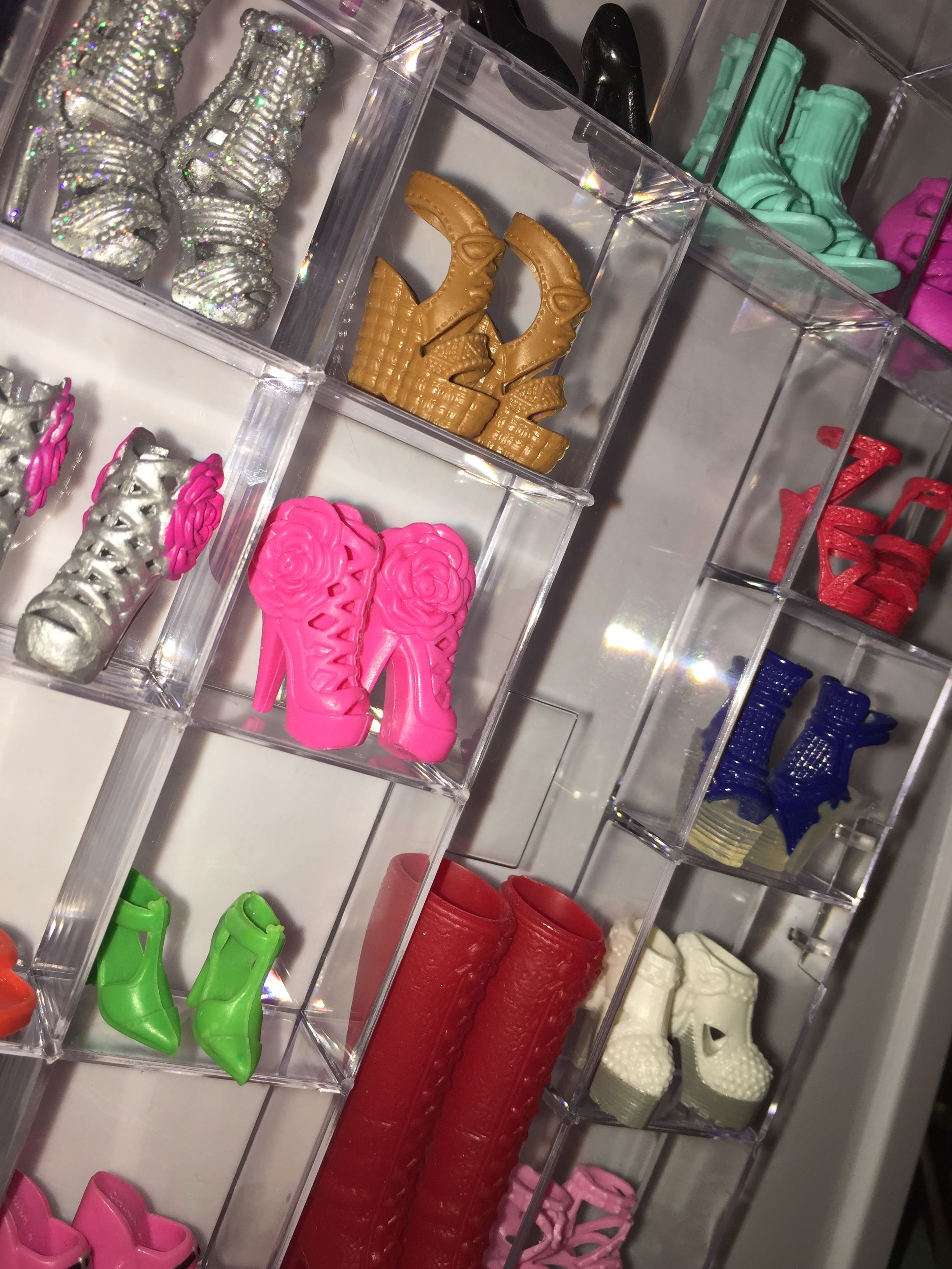 Diy Barbie shoe (With images) Shoe rack