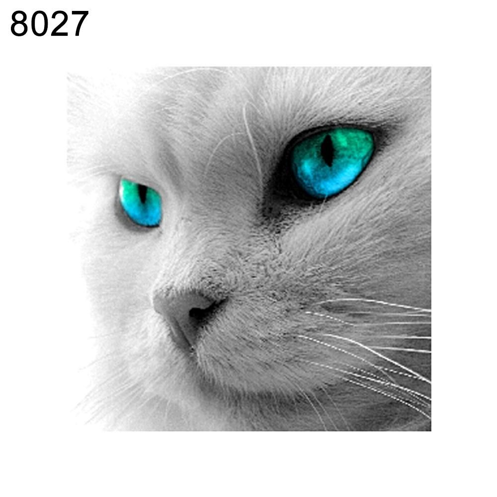 Photo of Cute Cat Pattern Frameless Diamond Painting DIY Cross Stitch Home Wall Decor – as the picture c