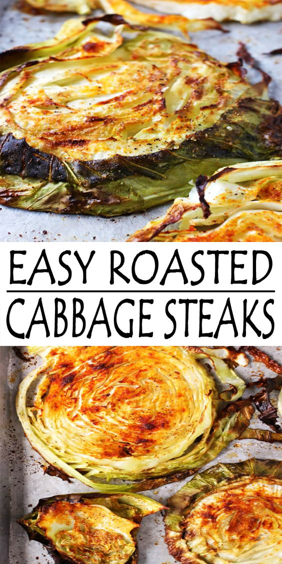 Easy Cabbage Steaks Recipe