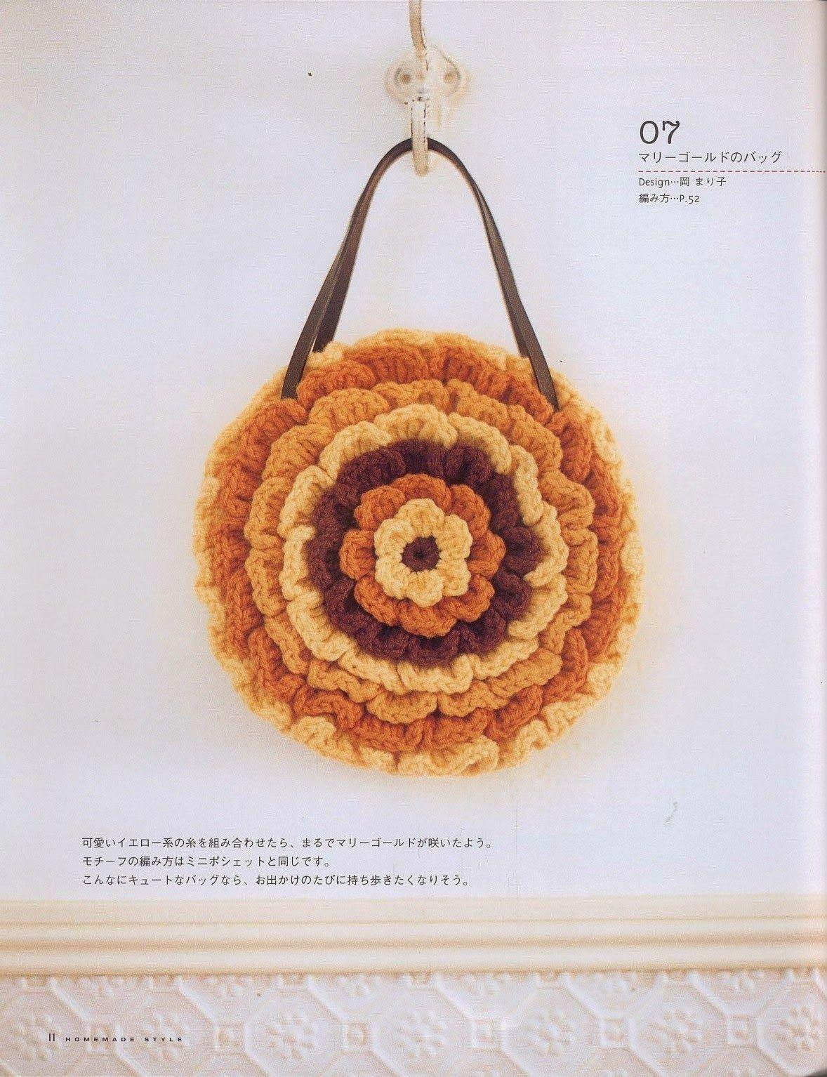 Único Moneda Patrón Monedero Crochet Embellecimiento - Manta de ...