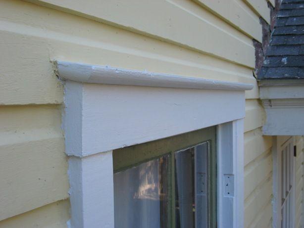 Craftsman Exterior Window Trim installing window and door cap flashing :: building moxie