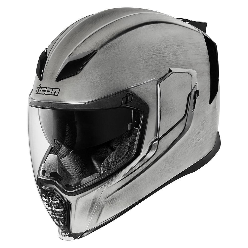 ICON AIRFLITE SOLID HELMETS Motorcycle helmets, Helmet