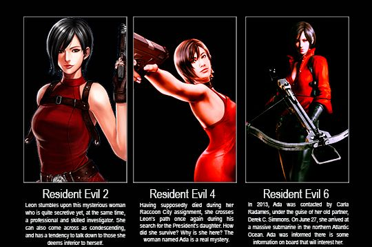 Brief History Lesson On Ada Wong Resident Evil Ada Wong Leon S Kennedy