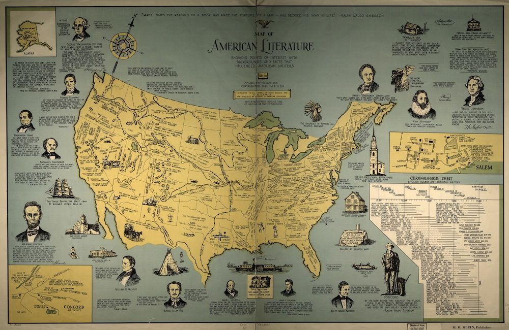 Wearedorothy book map of english literature