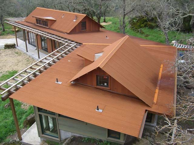Rusted Corrugated Metal Roofing Metal Roofing Prices