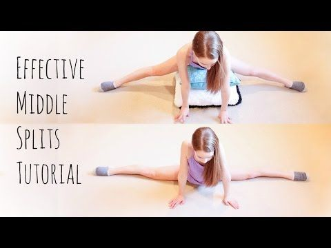 how to do middle splits  in 3 easy steps  youtube