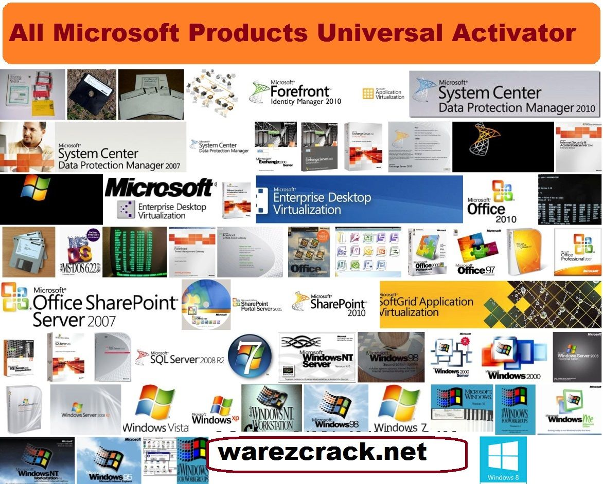 Microsoft Products All Microsoft Products Universal Activator Full Free Download