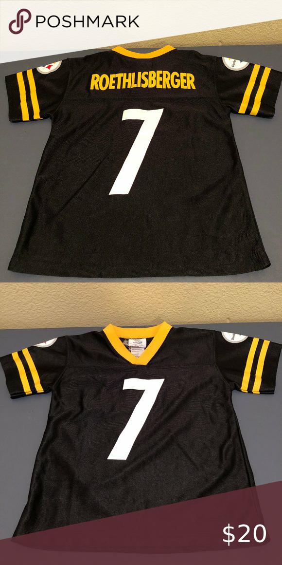 Ben Roethlisberger Steelers Kids S 4 Jersey Team Apparel Nfl Team Apparel Apparel