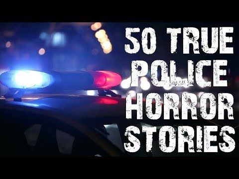 50 TRUE Horrifying & Disturbing Police Stories | MEGA