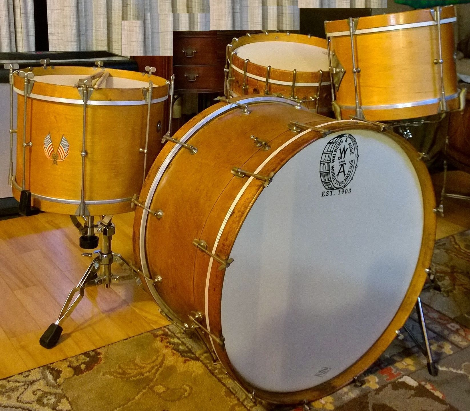 Building A Marching Drum Kit
