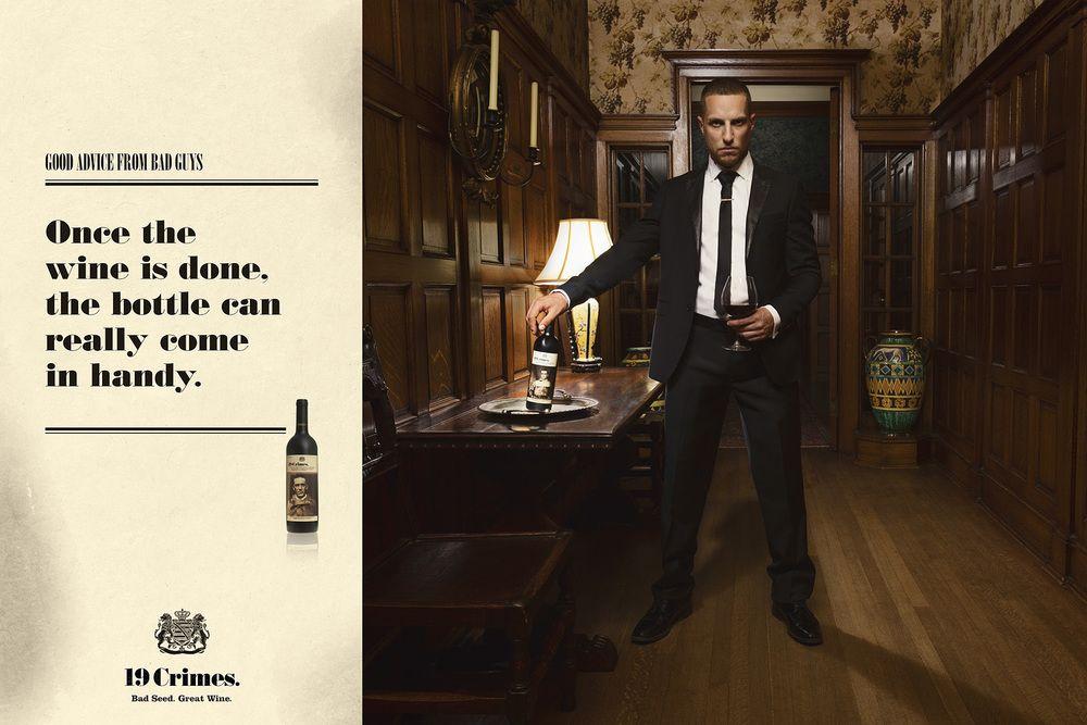 On Location 19 Crimes Wine Print ads, 19 crimes wine