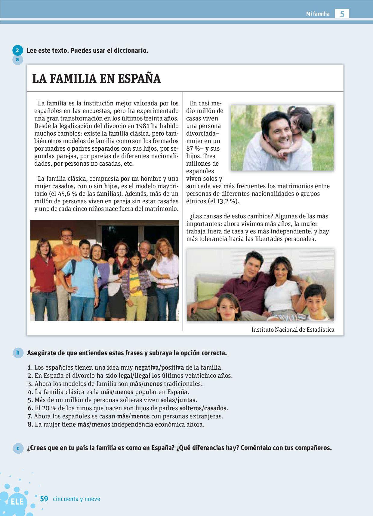 La Familia En Espana