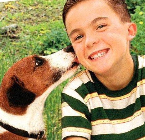 Frankie Muniz My Dog Skip Frankie Muniz Famous Dogs I Love Dogs