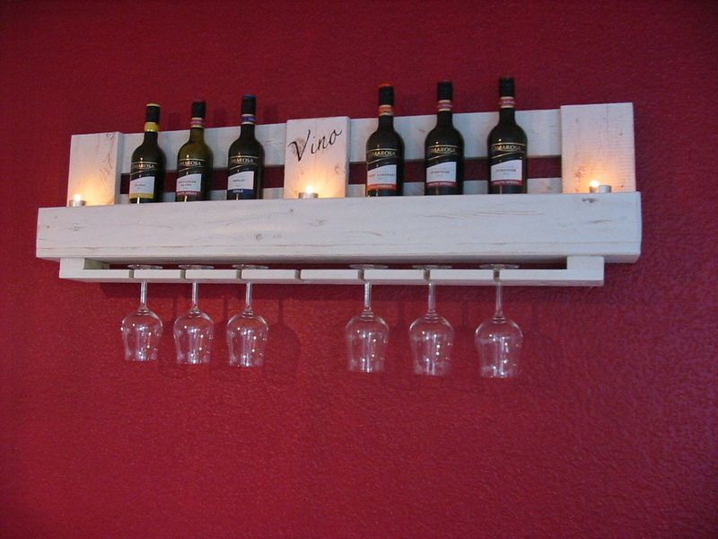 shabby weinregal aus europalette von holzwerk76 auf weinregale pinterest wine. Black Bedroom Furniture Sets. Home Design Ideas