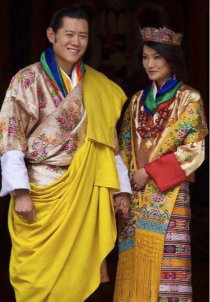 Bhutan King Jigme Singye Wangchuck and Queen Jetsun