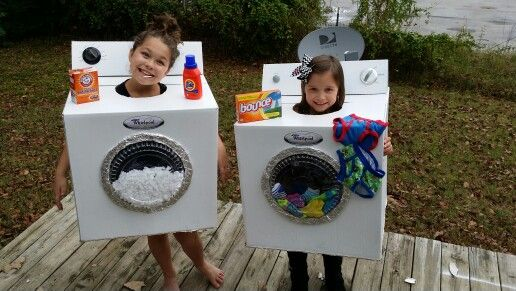 Washer And Dryer Costume Town Boy Costumes Hallows