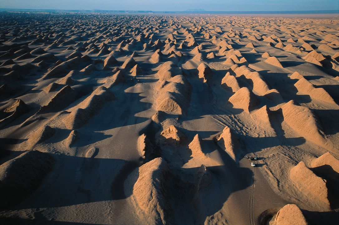 Yardang Field Of The Dasht E Lut This Is The Largest Field Of