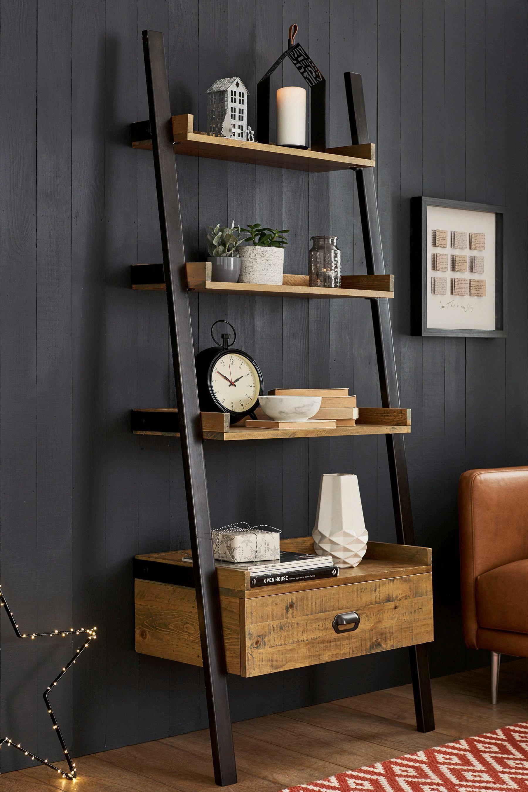 Buy Hudson Ladder Shelf From The Next Uk Online Shop Shelf Decor Living Room Ladder Shelf Decor Shelves