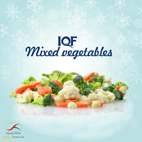 IQF MIXED VEGETABLES Shimla Hills offer frozen mixed