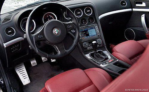 Alfa Romeo Brera Interior Alfaromeoclassiccars Alfa Romeo Automobile