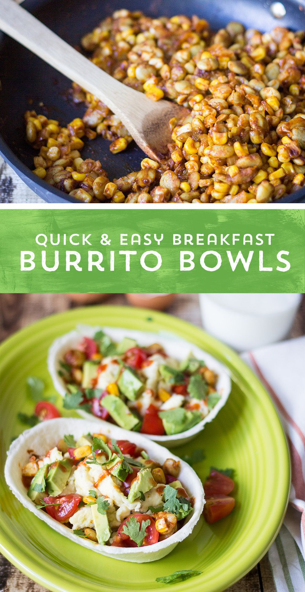 Busy days require a hearty breakfast! These Quick and Easy