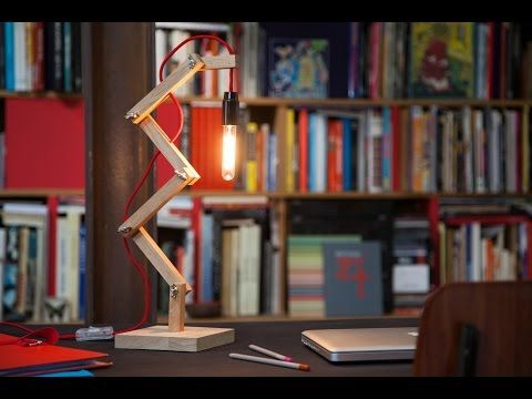 Do Hit By Bosch Creer La Lampe Zigzag Youtube Lamp Lampes Modernes Lampe Decoration