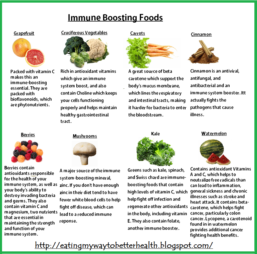 what to eat to build up immune system