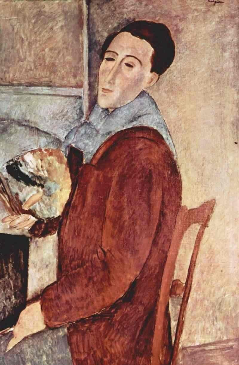Portrait of the Painter Moise Kisling , Modigliani