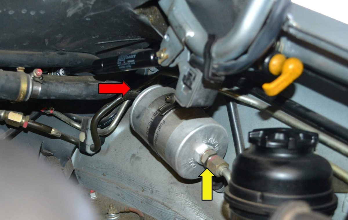 How To Replace A Fuel Filter In 2020 Filters Fuel Installation
