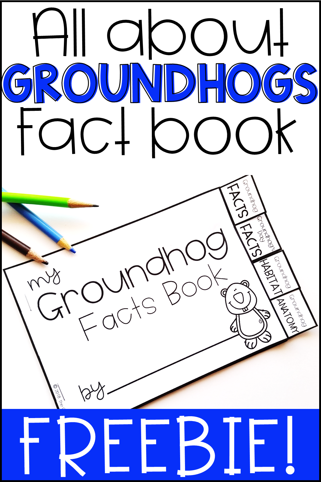 Groundhog Day Fact Book Freebie in 2021   Elementary learning [ 1583 x 1055 Pixel ]