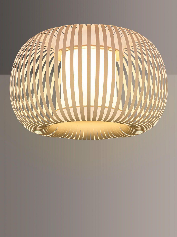 John Lewis Partners Harmony Ribbon Semi Flush Ceiling Light Natural In 2020 Semi Flush Ceiling Lights Ceiling Lights Ceiling Lights Living Room