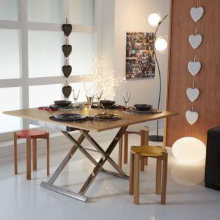 Epingle Par Lea Perriier Sur Idees Appart Nantes Meuble Deco Table Reglable Mobilier De Salon