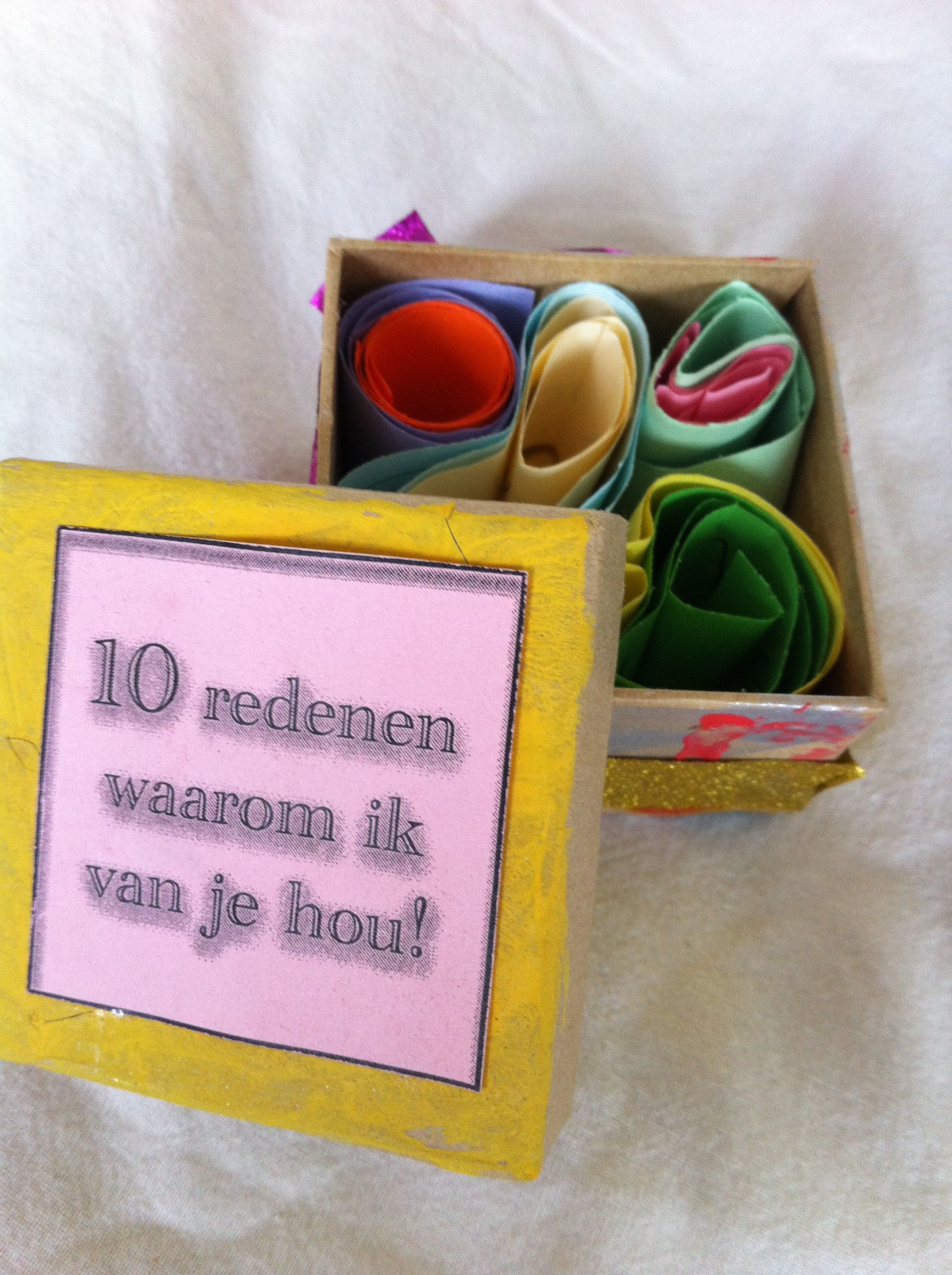 10 redenen waarom ik van je hou!