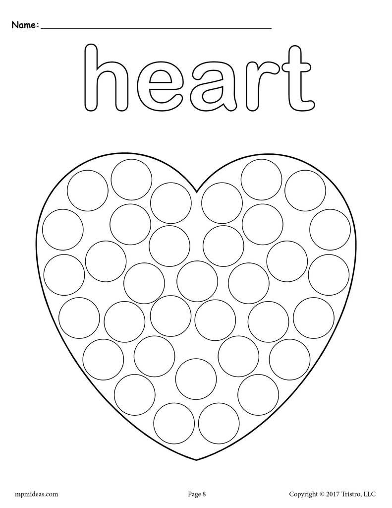 12 Shapes Do A Dot Printables Do A Dot Shapes Preschool Dot Markers