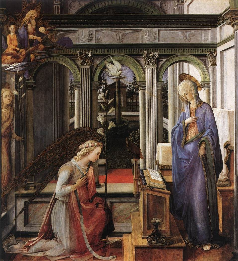 Filippo Lippi, The Annunciation