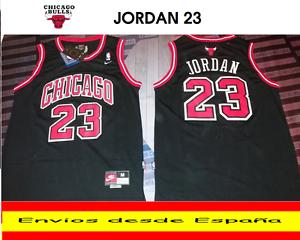 d3faa6a254 a camiseta nba retro bordado chicago bulls jordan n23 talla s color negro